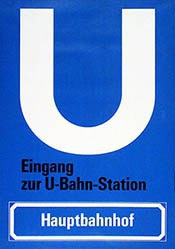 Felix Peter Werbeagentur - U-Bahn-Station