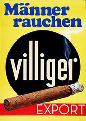 Küng Edgar Werbeagentur - Männer rauchen