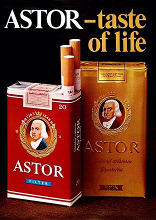 Anonym - Astor Cigarettes