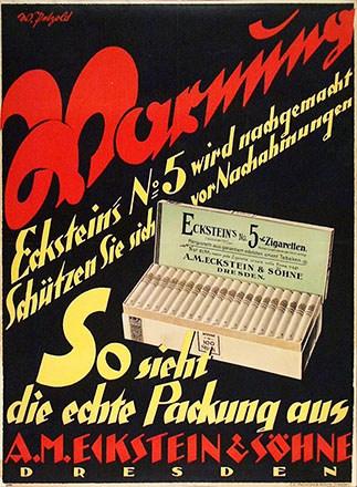 Petzhold Willi - Eckstein Zigaretten