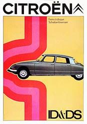 Delpire Publicité - Citroën ID & DS