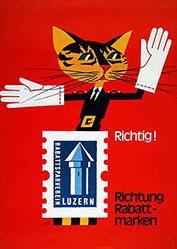 Monogramm M.N. - Luzerner Rabattsparverein