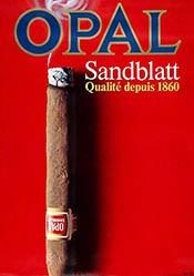 Küng Edgar Werbeagentur - Opal Sandblatt