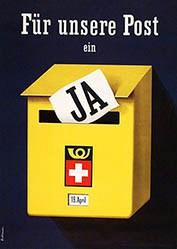 Birkhäuser Peter - Für unsere Post Ja