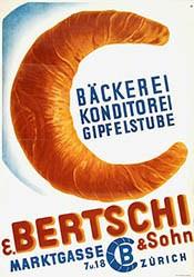 Monogramm K - E. Bertschi & Sohn