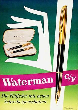 Anderfuhren V. - Waterman Füllfeder