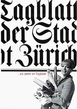 Freisager Hans Michael - Tagblatt der Stadt Zürich