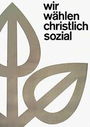 Anonym - Christlichsoziale Partei