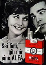 Ruperti Ivan Werbeagentur - Alfa Cigarettes