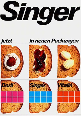 Ackermann Advertising - Singer Zwieback