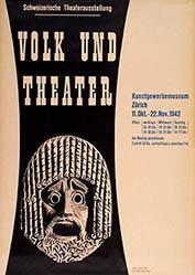 Eidenbenz Hermann - Volk und Theater