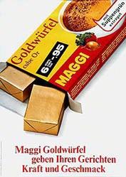 Looser Hans Werbeagentur - Maggi Goldwürfel
