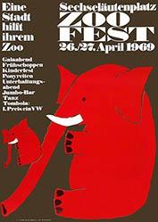 Gruber Erich - Zoofest Zürich