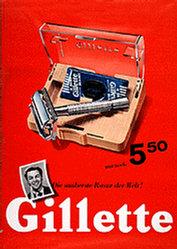 Wirz Adolf Reklameberater - Gillette