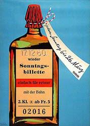 Barth Wolfgang - Sonntagsbillette - SBB