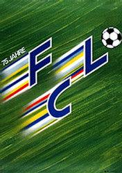 Küng Edgar Werbeagentur - 75 Jahre F.C. Luzern