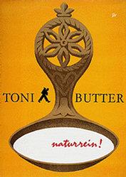 Monogramm T.W. - Toni Butter