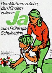 Koella Alfred - Frühlingsschulbeginn Ja