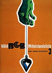 Monticelli Walter - Bauern-,Gewerbe- und Bürgerpartei (BGB)