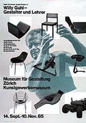 Hamburger Jürg / Staehelin Georg  - Willy Guhl - Gestalter und Lehrer