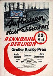 Anonym - Rennbahn Oerlikon