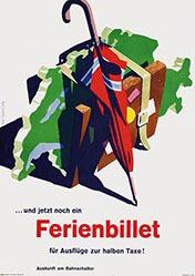 Rolly Hanspeter - SBB - Ferienbillet