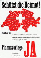 Anonym - Finanzvorlage Ja