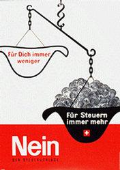 Anonym - Nein der Steuervorlage