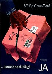Bühler Fritz - Postgesetz Ja