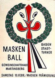 Anonym - Maskenball Baden