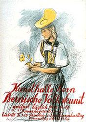 Traffelet Fritz (Friedrich) - Bernische Volkskunst