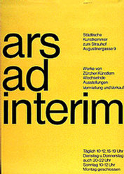 Bangerter Walter - Ars ad interim