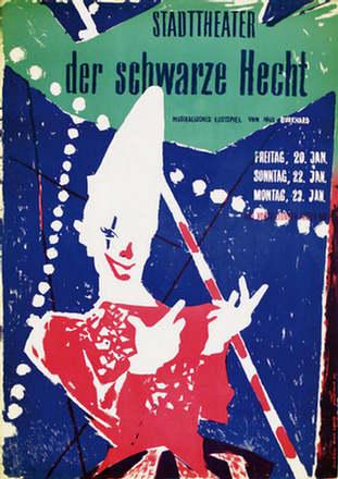 Bühler Fritz / Barth Ruodi - Der schwarze Hecht
