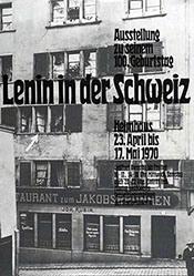 Anonym - Lenin in der Schweiz