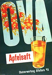 Annen Reklameatelier - Ova Apfelsaft