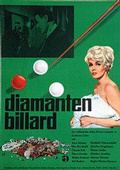 Monogramm Hans B. - Diamanten Billard