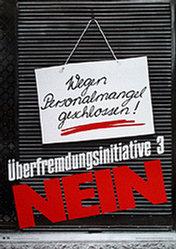 Küng Edgar Werbeagentur - Überfremdungsinitiative