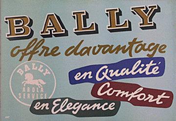 Monogramm W.R. - Bally