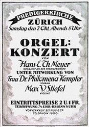Kölliker - Orgel Konzert