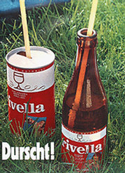 Pool Advertising - Rivella