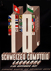 Monogramm A.B. - Comptoir Suisse Lausanne