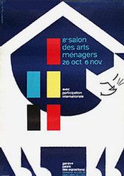 Géroudet & Augustin - Salon des Arts Ménagers