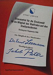 Anonym - Leemann / Peter
