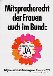 Anonym - Frauenstimmrecht Ja