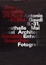 Anonym - Bram van Velde / Antonio Gaudi