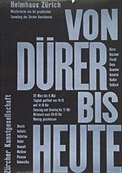 Honegger-Lavater Gottfried - Von Dürer bis heute