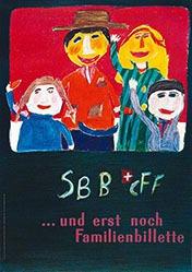 Hitz Agnes - SBB - Familienbillette