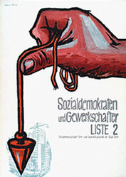 Rüegg Albert - Sozialdemokraten