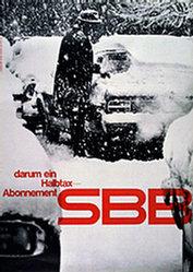 Auchli Herbert / Studer Walter - SBB - Halbtaxabonnement