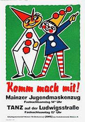 Anonym - Mainzer Jugendmaskenzug